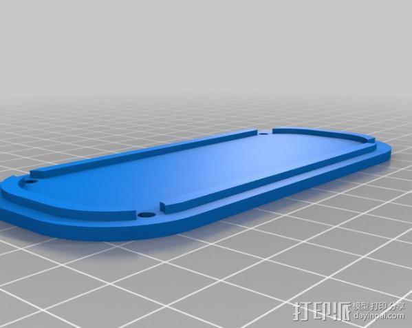 RPi保护壳 3D模型  图4