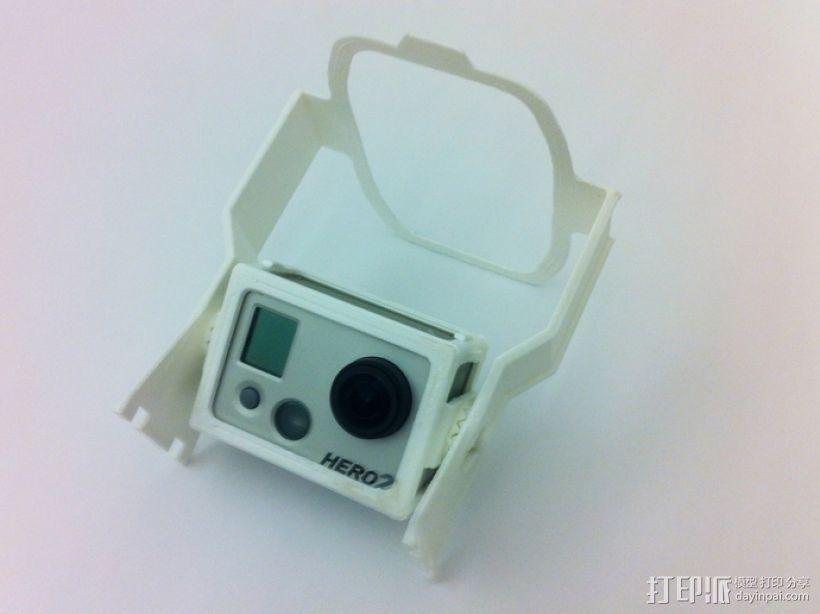 GoPro支架 3D模型  图3