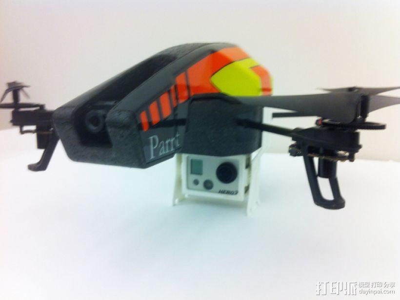 GoPro支架 3D模型  图6