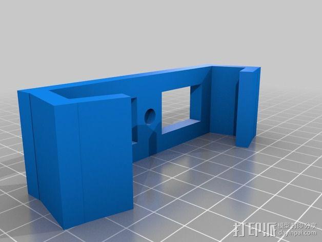 Kinect Sensor mocap三脚架 3D模型  图2