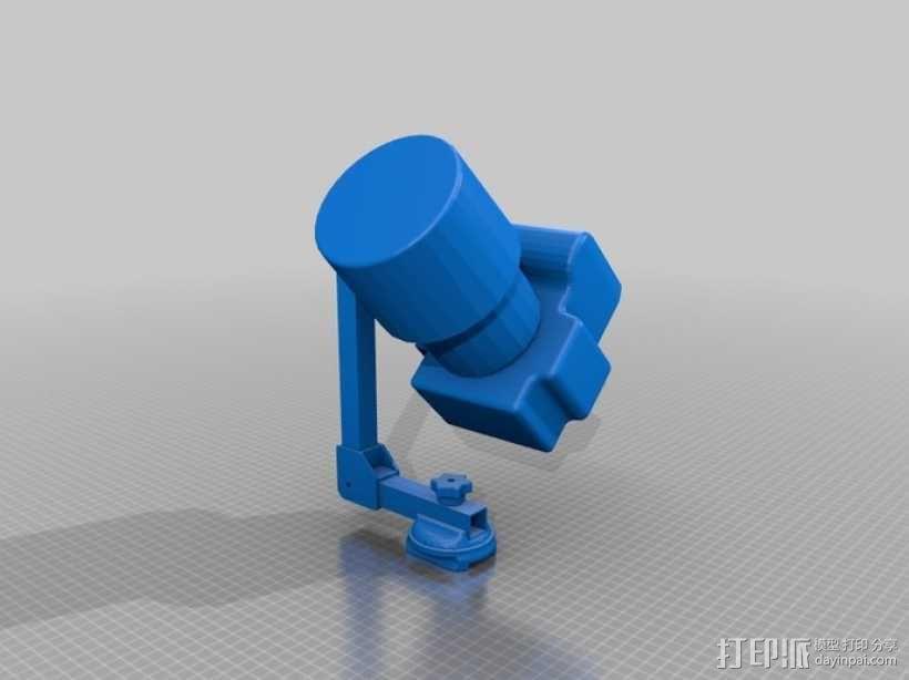摄像机支架 3D模型  图4
