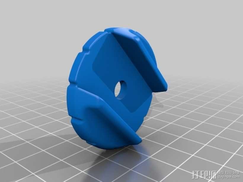 摄像机支架 3D模型  图6