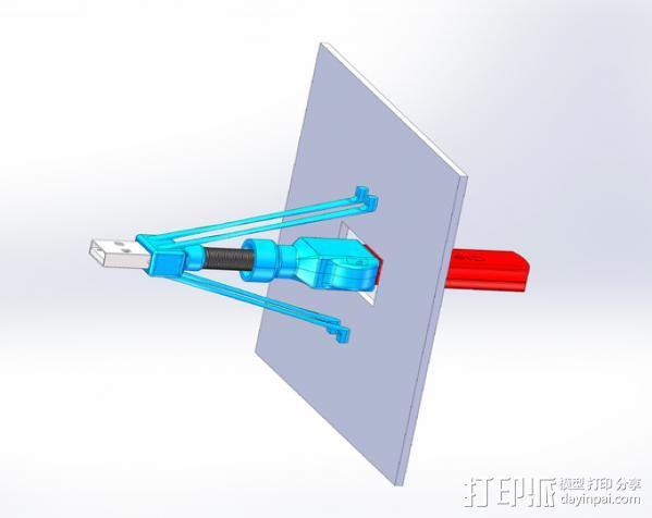 USB接口 3D模型  图7