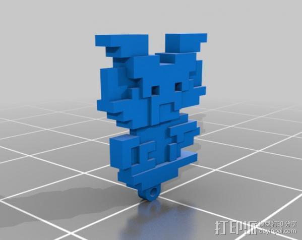 马里奥摆件 3D模型  图3