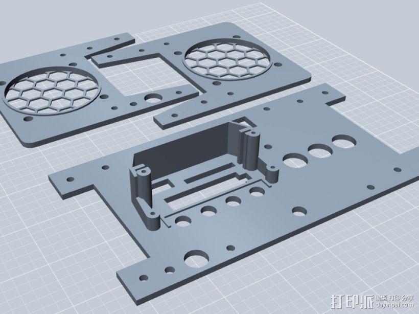 音响面板 3D模型  图2