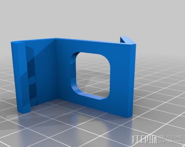 Samsung Galaxy S3手机座 3D模型  图2