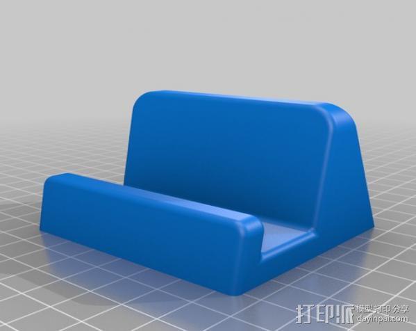 手机座/平板支架 3D模型  图2