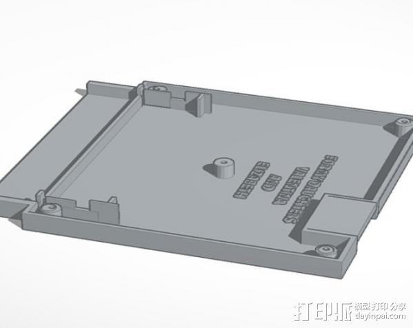 NES 墨盒 3D模型  图1