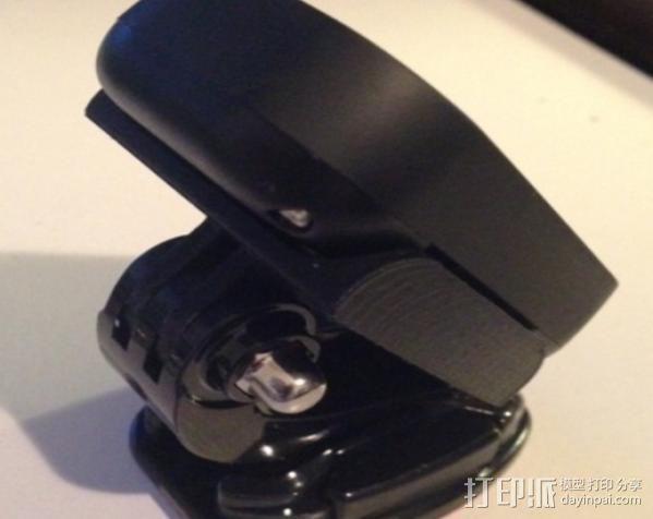 GoPro远程遥控壳子 3D模型  图7