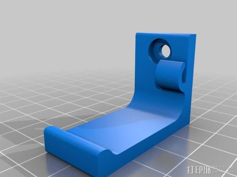 耳机支架 3D模型  图1