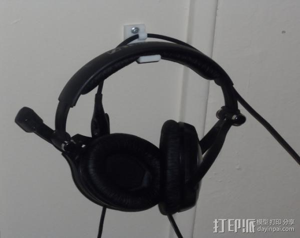 耳机支架 3D模型  图2