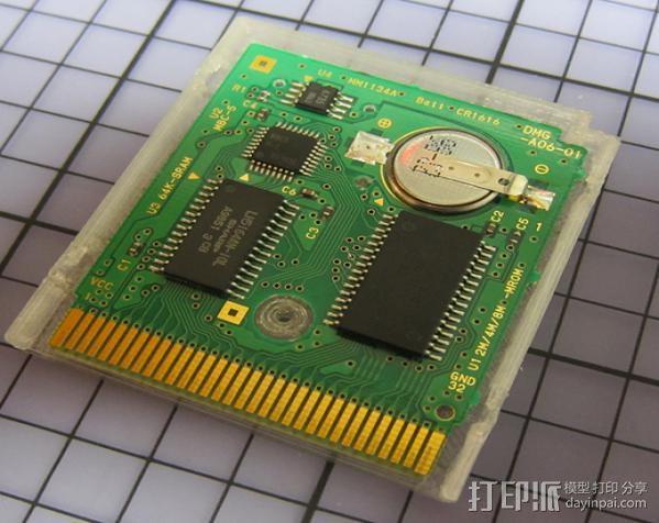 磁盘壳子 3D模型  图1