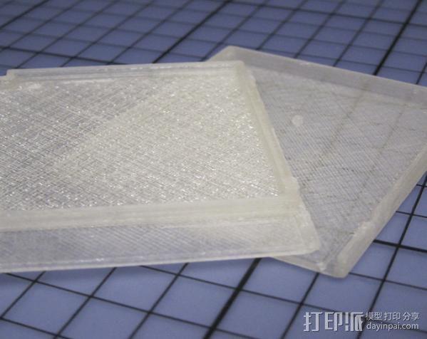 磁盘壳子 3D模型  图3