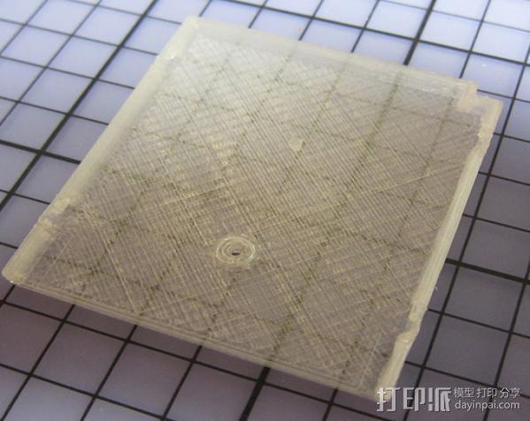 磁盘壳子 3D模型  图2