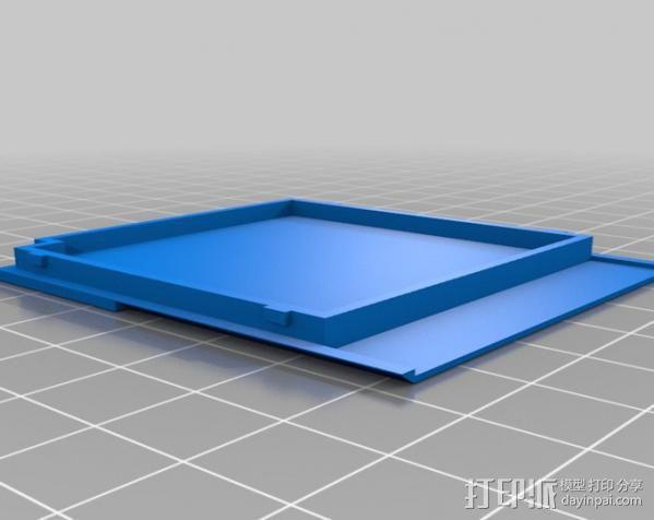 磁盘壳子 3D模型  图6