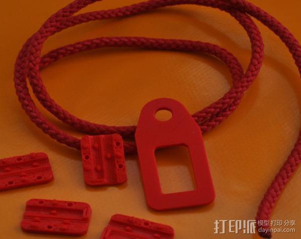 提包锁 3D模型  图7