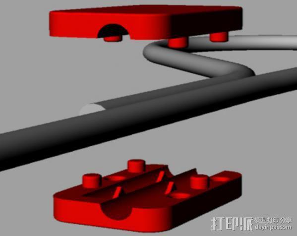 提包锁 3D模型  图6