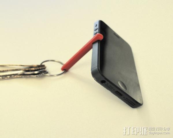 iPhone 5 立柱 3D模型  图1