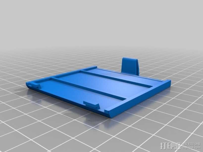 任天堂游戏电池壳 3D模型  图2