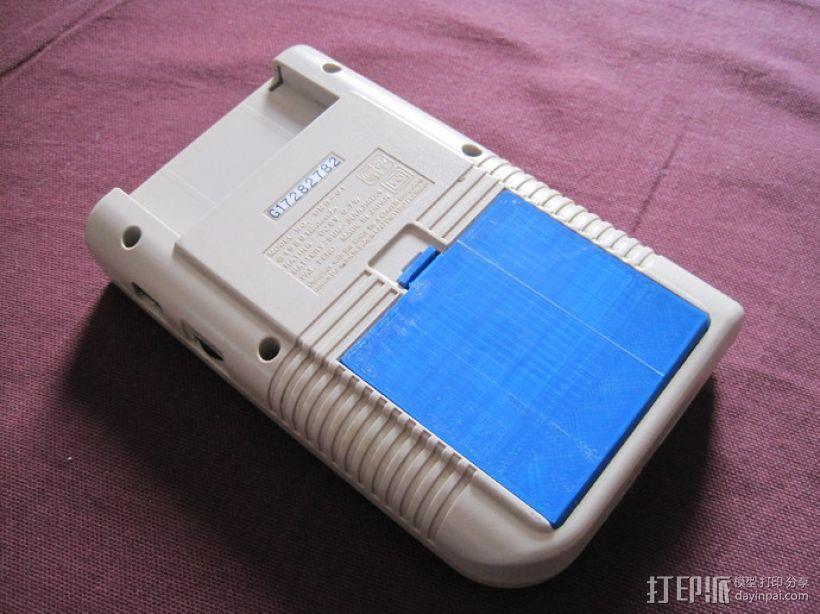 任天堂游戏电池壳 3D模型  图4