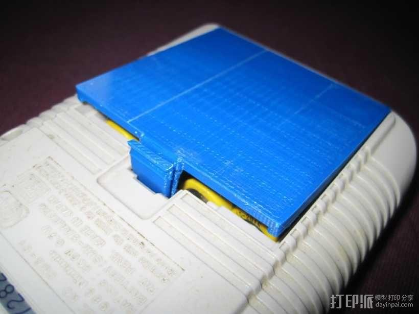 任天堂游戏电池壳 3D模型  图5