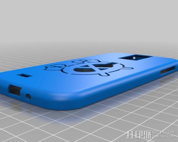 Galaxy S4 手机壳 3D模型  图1