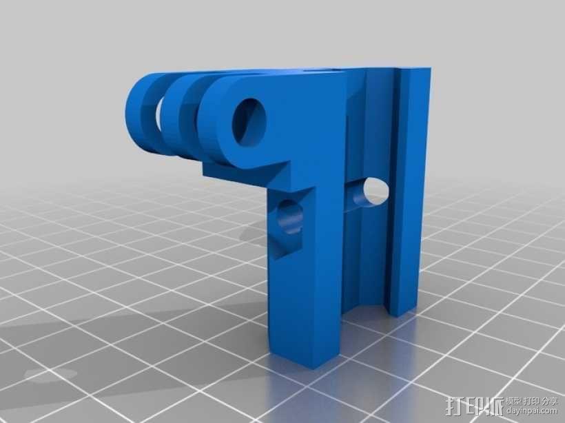 Gopro相机适配器V2 3D模型  图1