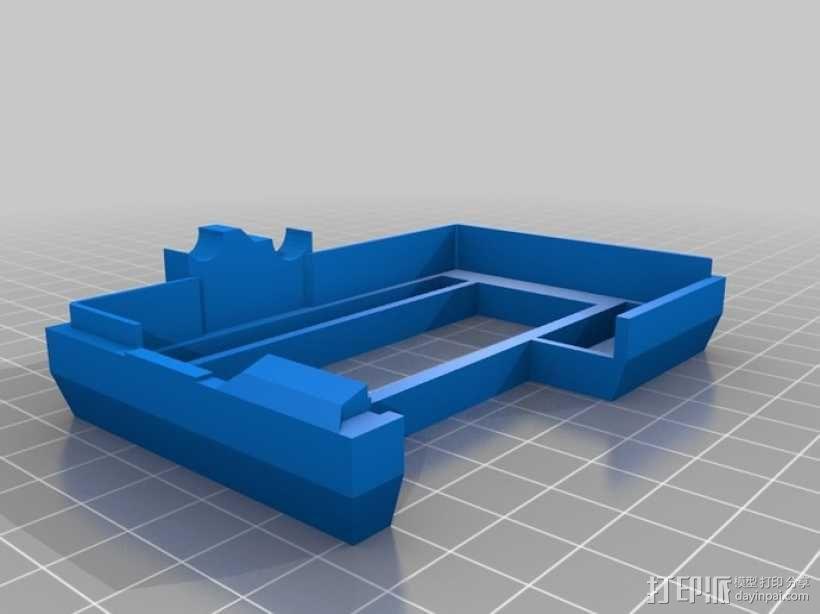 Raspberry Pi 保护壳 3D模型  图3