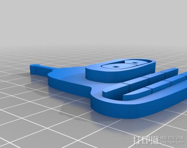 电线收纳器 3D模型  图3