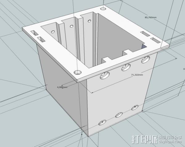 英特尔服务器 3D模型  图2