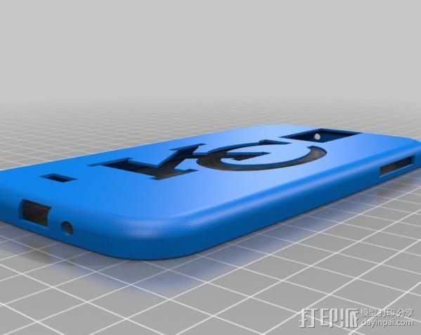 Galaxy S4手机壳 3D模型  图2