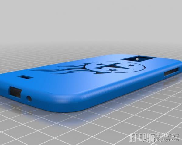 Galaxy S4手机壳 3D模型  图4