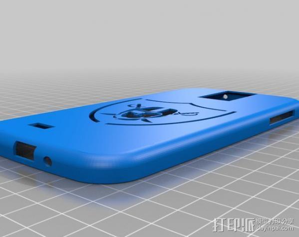 Galaxy S4手机壳 3D模型  图5