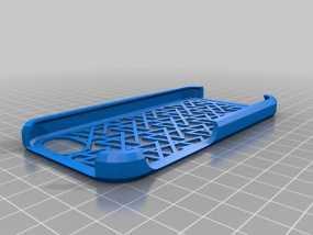 iphone5手机壳 3D模型