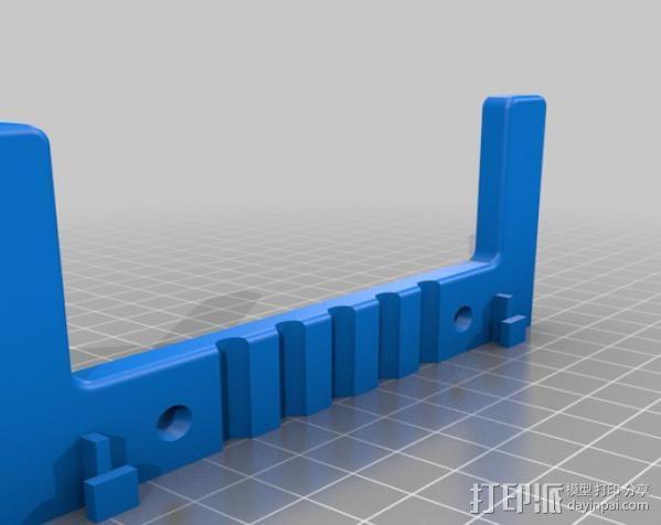 路由器适配器 3D模型  图3