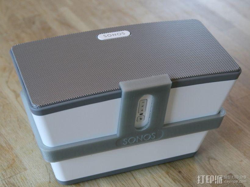 Sonos PLAY支架 3D模型  图3