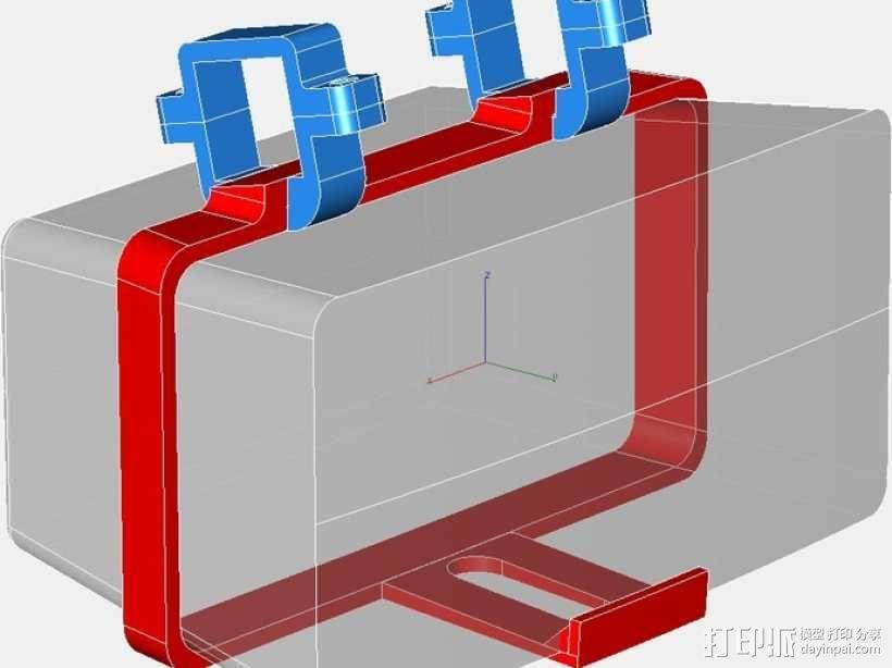 Sonos PLAY支架 3D模型  图2
