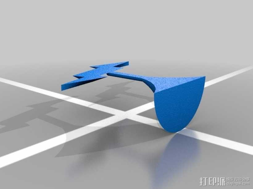 Shock Jockey Vigor摆件 3D模型  图3