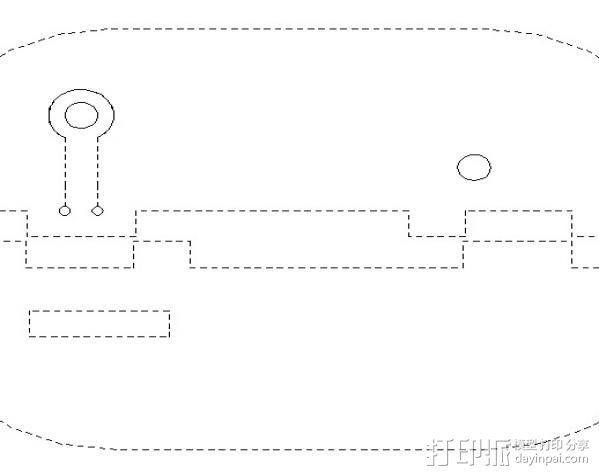 激光切割传感器 3D模型  图2