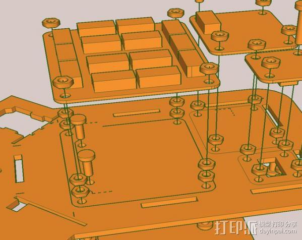 激光切割传感器 3D模型  图8