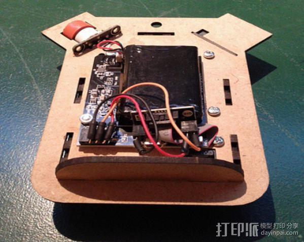 激光切割传感器 3D模型  图10