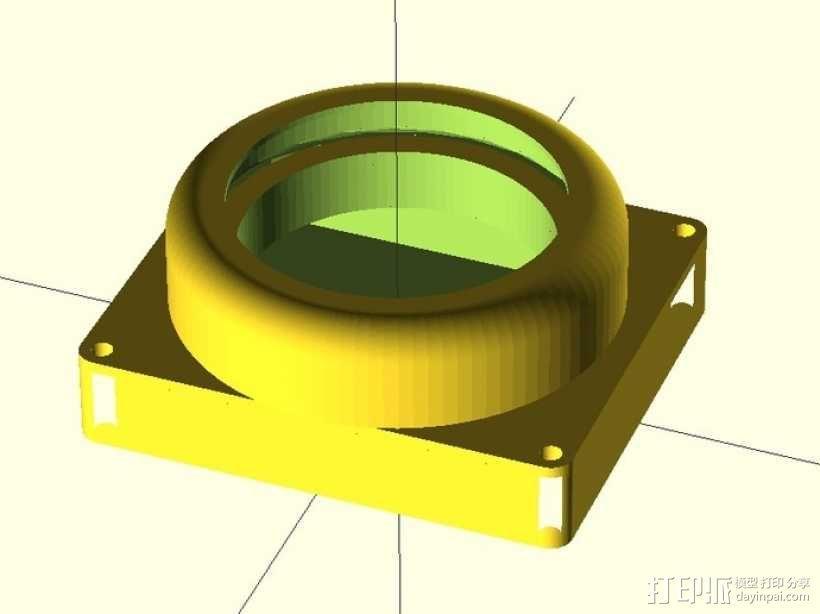 镜头盖 3D模型  图4