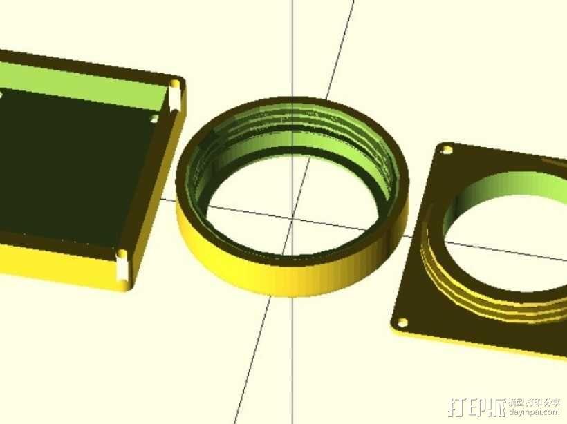 镜头盖 3D模型  图6