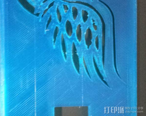 Galaxy S4 手机壳 3D模型  图2