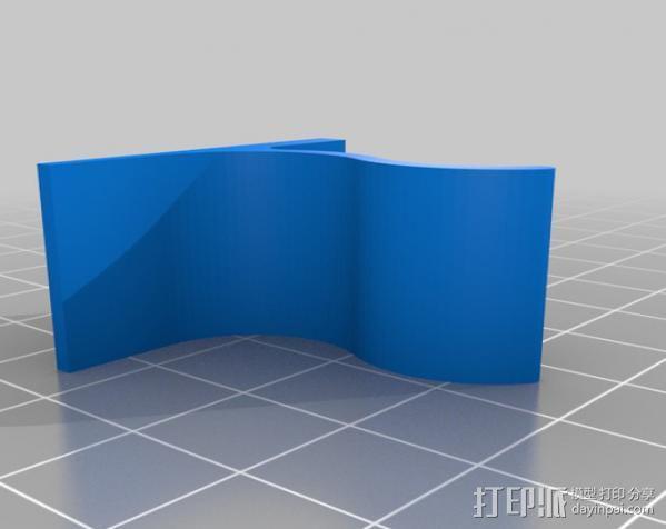 Mac 键盘底座 3D模型  图2