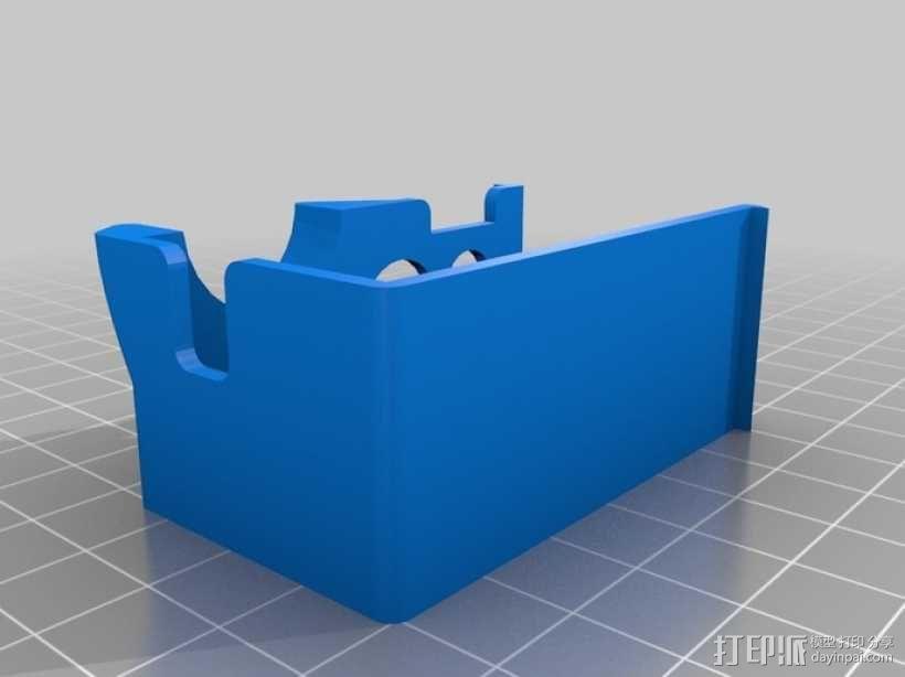 Go Pro Hero2外壳 3D模型  图2
