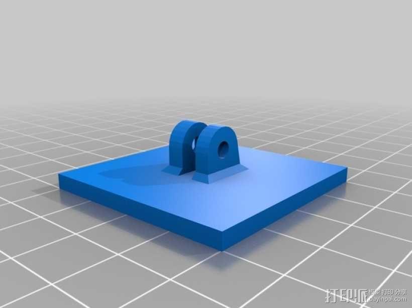 Go Pro Hero2外壳 3D模型  图3