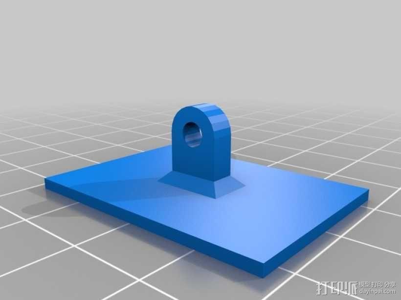 Go Pro Hero2外壳 3D模型  图5