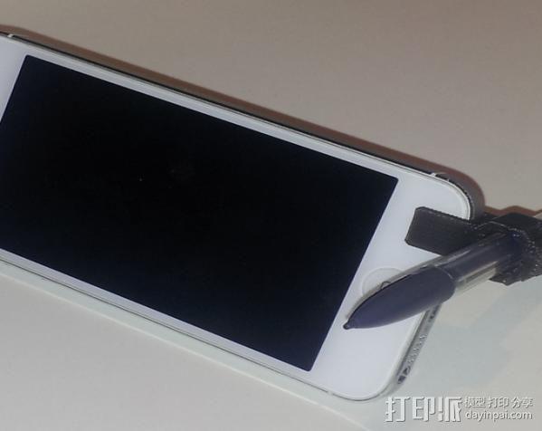 迷你手机支架 3D模型  图1