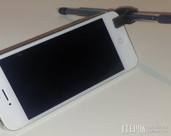 迷你手机支架 3D模型  图2